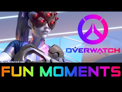 Overwatch Fun Moments With Friends + Clutch Plays - Overwatch Beta Gameplay