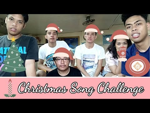Christmas Song Challenge | ft. April, Brille, Michael & Angelo | TinKerr Craze