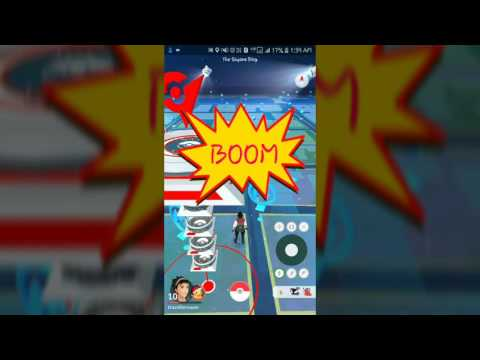 Video Instructions for hacking Pokemon Go on Android
