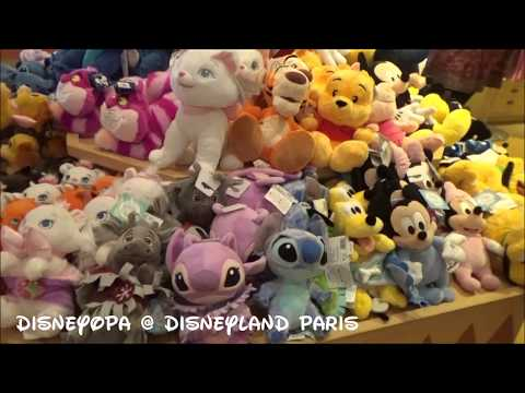 Disneyland Paris Hotel Santa Fe Shop Trading Post Shop walkthrough 2017 DisneyOpa