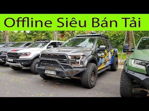 Offline Siêu Bán tải với dàn Ford Raptor độ cực chất của dân chơi Vịnh Bắc Bộ