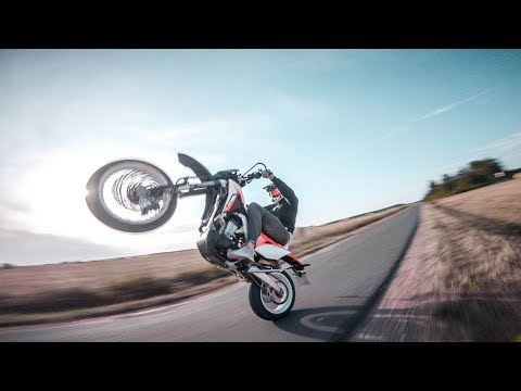 🏍️FPV Racing Drone chasing Motorcycle (Supermoto) - SE FPV🏍️