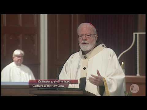 Cardinal Sean: Priestly Ordination, 5/21/2016