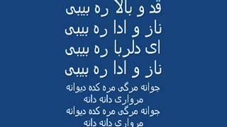 afghan karaoke. morwari dana dana karaoke