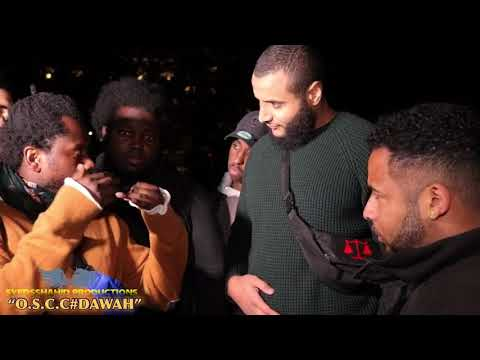 BLACK MUSLIM BROTHERS SPEAK ABOUT RACISM & AFRICAN ISSUES G-M-CIRCLE P-1/3 | SPEAKERS CORNER