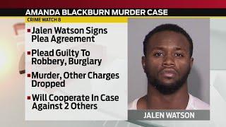 Man accused in Amanda Blackburn murder case signs plea agreement