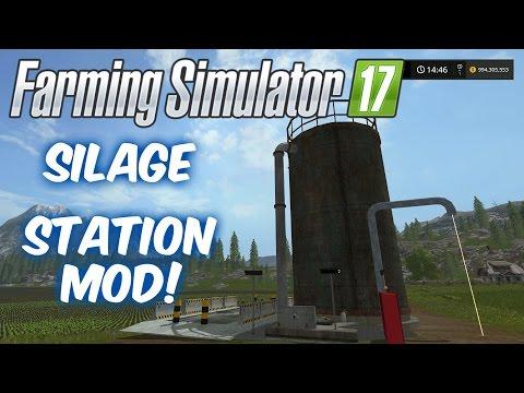 Silage Fermenting Station!--Mod Spotlight--Farming Simulator 17