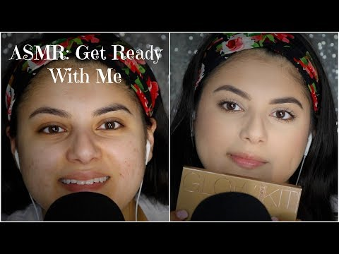 ASMR Get Ready With Me + Chit Chat: Whisper, Tapping, & Tingles! | Amy Ali ASMR