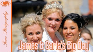 James and Carla's stunning Wedding Day at beautiful Pentney Abbey Norfolk UK