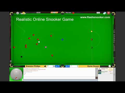 Play Online Snooker Game - Flash Snooker