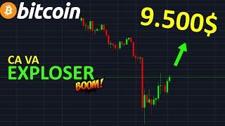 BITCOIN 9800$ CA VA EXPLOSER !? btc analyse technique crypto monnaie