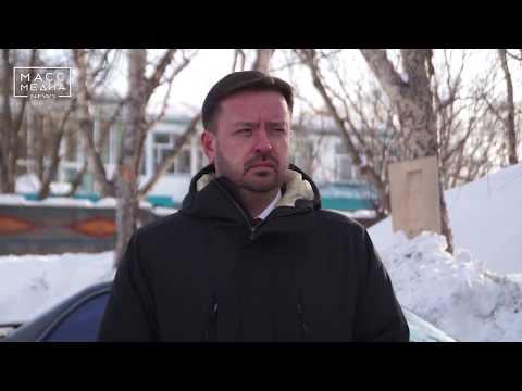 Снегоочистка Петропавловска |