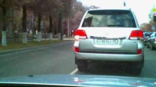 Машина мэра Вологды, и этим все сказано!