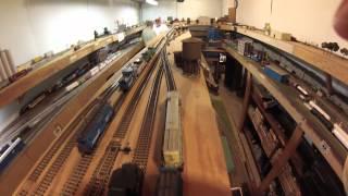 Jim Corrigan's Conrail layout 3 29 14