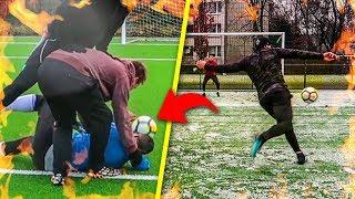 DIE BESTEN TORE & GRÖßTEN FUßBALL CHALLENGE FAILS !