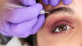 What Microblading Your Eyebrows is REALLY like!