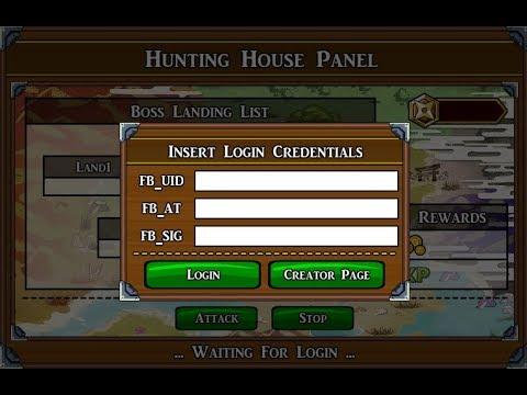 Ninja Saga New Hunting House Panel Desktop [ 100% Working ] | #August 2017