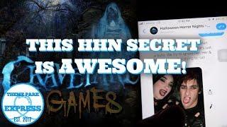 The Secret To Graveyard Games At Halloween Horror Nights 2019 Orlando   Facebook Messenger