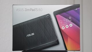 Asus ZenPad S 8 with 4GB RAM Unboxing (Z580CA)