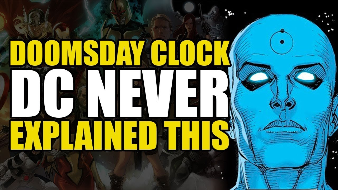Doomsday Clock Dc Never Explained This Comics Explained Youtube