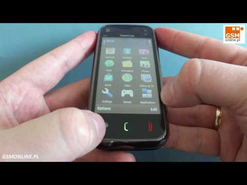 Nokia N97 mini - demo, hands-on, menu, main screen