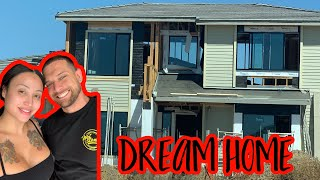 WE DID OUR STRUCTURAL HOME WALK THROUGH!! **dream home**