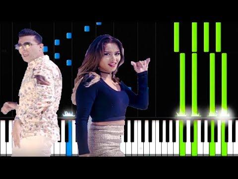 L'Algérino  - Les Menottes Piano Cover ( Easy  tutorial  2018)
