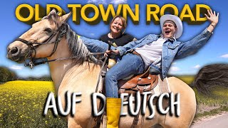 LIL NAS X - OLDTOWN ROAD (auf DEUTSCH) - Trau Dich Joey | Joey's Jungle