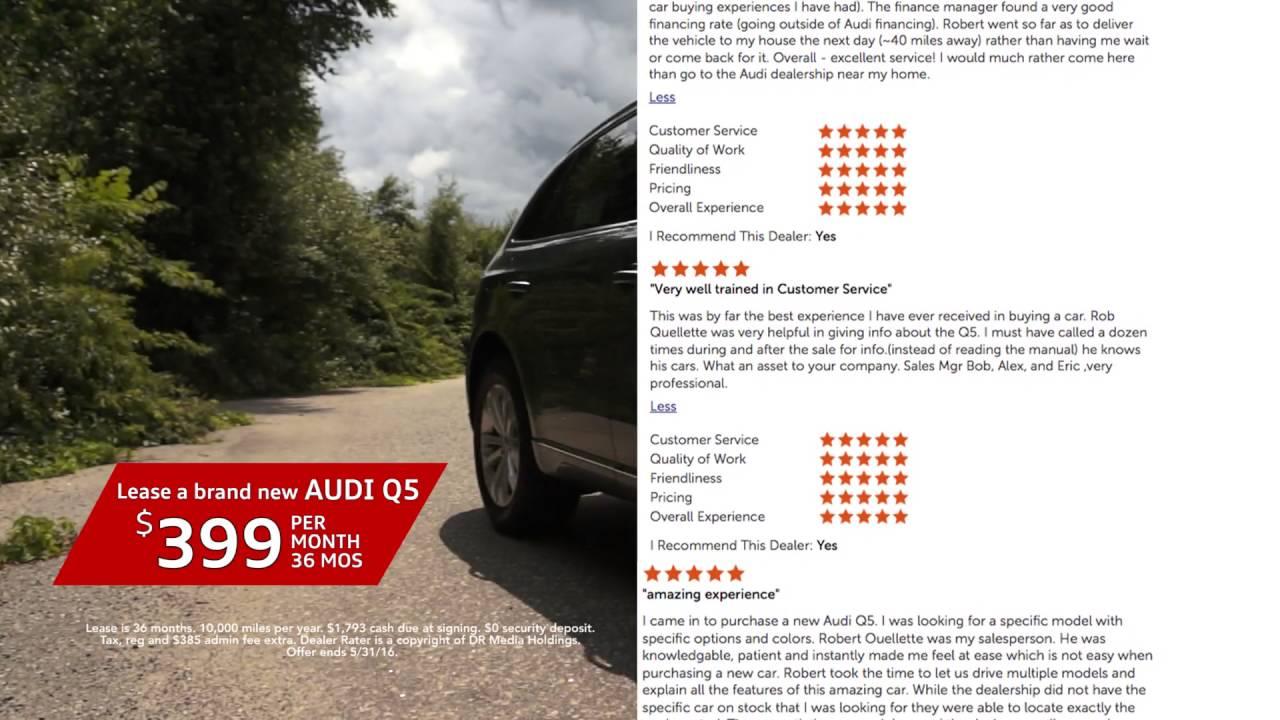 Audi Dealership Near Me >> 2016 Audi Q5 Audi Stratham