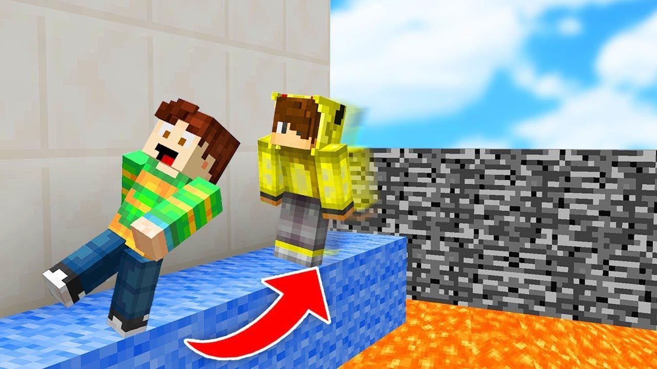 ARKADAŞIN ÖLÜRSE SENDE ÖLÜRSÜN! - Minecraft LAVA PARKUR