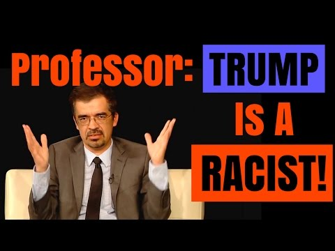 Latino Professor: Trump 'RACIST' Towards Mexicans and Hispanics (DEBATE | Excerpt 2 of 3)