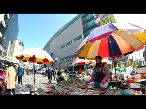 Jagalchi Market 자갈치시장 Tour - Amazing Fish Market In Busan Korea (4K)