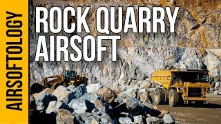 Rock Quarry Airsoft Field?!?! | Airsoftology VLOG