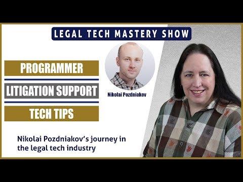 Nikolai Pozdniakov's Legal Tech Journey S02E04