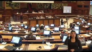 Ley orgánica de discapacidades, Asamblea Nacional