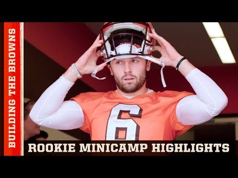 Legend Jim Brown Welcomes Baker Mayfield, Nick Chubb & More to Rookie Camp | Building the Browns