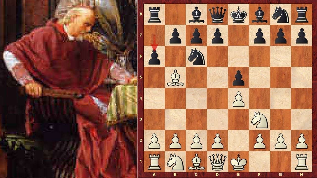 Chess Openings For White Ruy Lopez Spanish Game