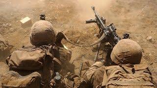 US Marines & Australian Soldiers Assault Range Intense Live Fire Combat Training