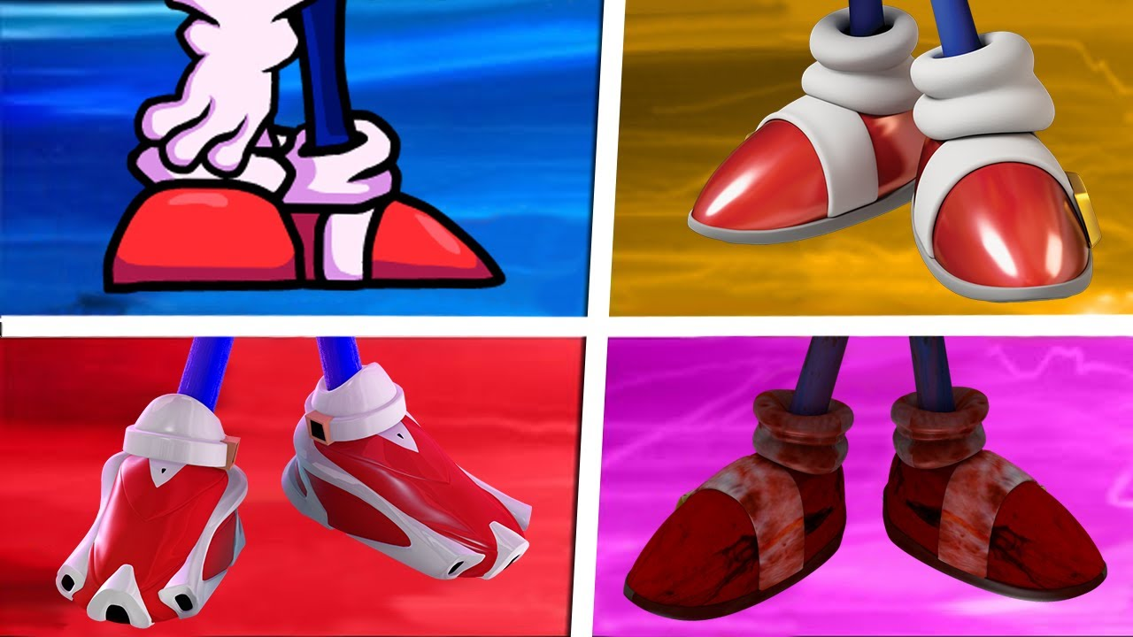 Download Sonic The Hedgehog Movie Choose Your Favourite Shoes (Sonic Prime VS Sonic EXE)