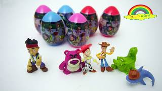 Learning Number One to Eleven and learn animals' name with Toys Story Surprise Egg