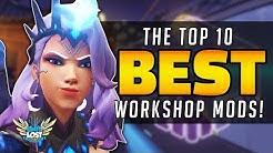 Overwatch TOP 10 BEST Workshop Mods!