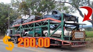 COMPREI UM CARRO NO LEILÃO POR R$ 200 REAIS E VEIO UMA SURPRESA DENTRO (carro andando link nos comen