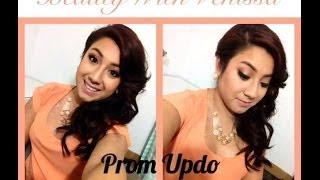 Prom hair tutorial | Beauty With Venissa Thumbnail