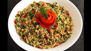 Tadına Doyamayacağınız Arpaşehriye Salatası 🌿bera tatlidunyasi