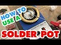 Introducing a Hobby Casting Solder Melting Pot by Prince August