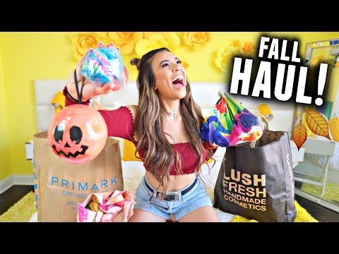FALL HAUL 2017, Y'ALL! Lush, Primark, Halloween, Wigs, and More!🍂🎃