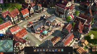 Anno 1800 gameplay -- advanced civilization