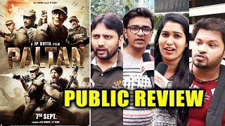 Paltan PUBLIC REVIEW   First Day First Show   Arjun Rampal, Gurmeet, Luv Sinha, Siddhanth