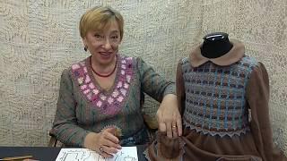Вязание крючком для детей от О.С. Литвиной. Платье