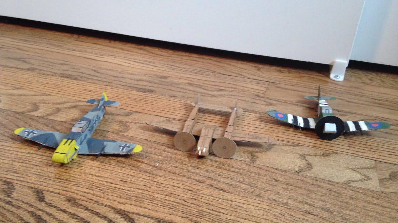 diy cardboard plane templates in descrption youtube